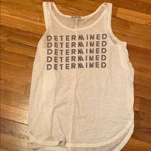"Forever21 Active Workout ""DETERMINED"" tank top"